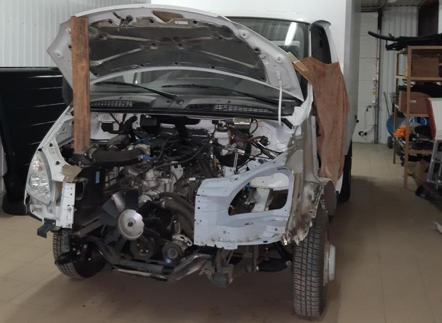 Кузовной ремонт и покраска Газель