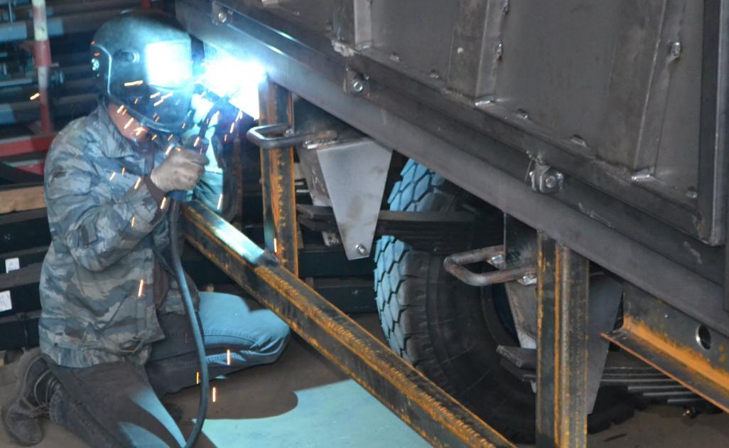 Ремонт прицепов и полуприцепов грузовых