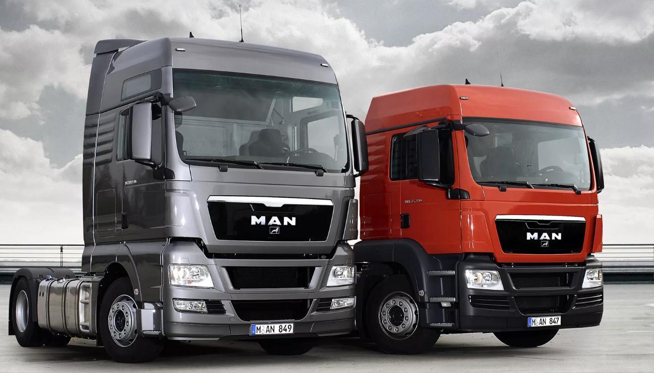Большой выбор запасных частей для автомобилей MAN