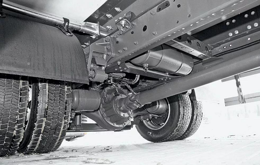 Ремонт мостов грузовых машин